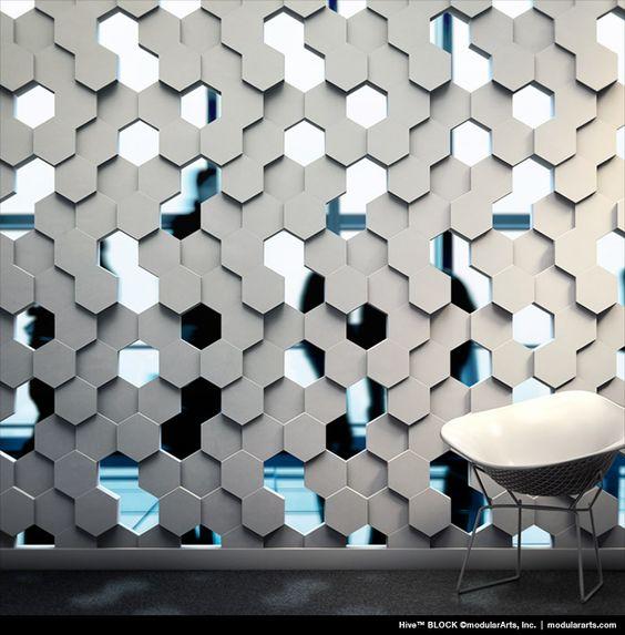 Hive By Modulararts Inc Sculptural Screen Walls Highly