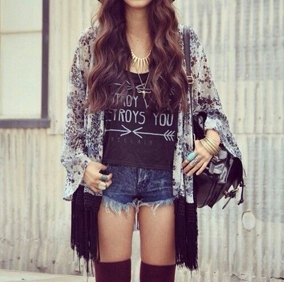 40 Cute Hipster Outfits For Girls | School trends, The ...