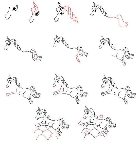 how to draw a pegasus for beginners