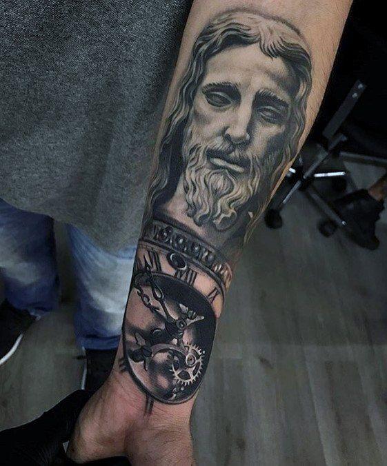 60 3d Jesus Tattoo Designs Fur Manner Religiose Tinte Ideen Mann Stil Tattoo Jesus Tattoo Jesus Tattoo Design Tattoo Designs Men