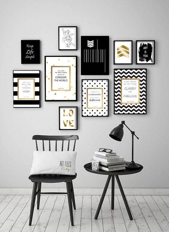 Kate Spade Inspired Artwork Quotes  Modern wall decor