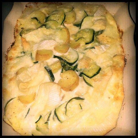 Grâtin courgettes, pommes de terre et fromage