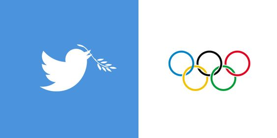 Hey @Dick Cleveland CEO Twitter, Any chance of extending an Olive branch to your logo for the Olympics  #olypmictruce #olympicpeace
