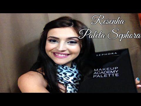 Sephora - Make up Academy Pallete - YouTube