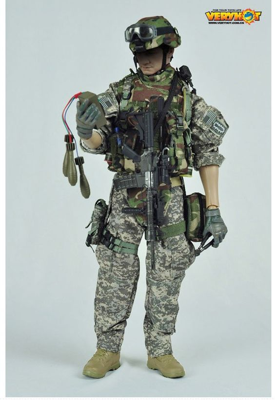 onesixthscalepictures: Very Hot US Army EOD (Explosive Ordanance Disposal) : Latest product news for 1/6 scale figures (12 inch collectibles...