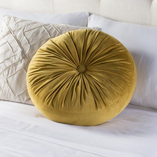 House of Hampton Arvin Button Pillow