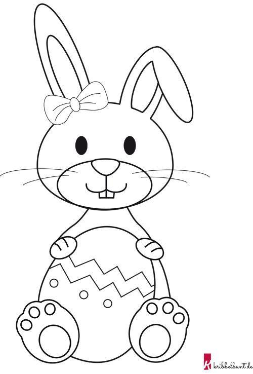 Osterhasen Basteln Mit Kindern Mit Vorlage Ganz Einfach In 2020 Osterhasen Basteln Kinder Osterhasen Basteln Vorlage Osterhase