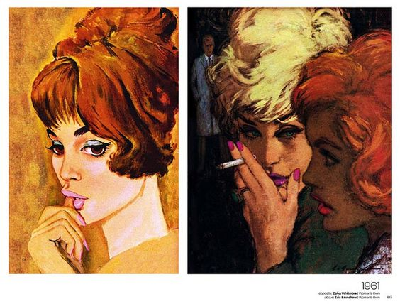 Lifestyle Ilustrations of the '60s - Page from the just published book on '60s illustration in British womens' magazines