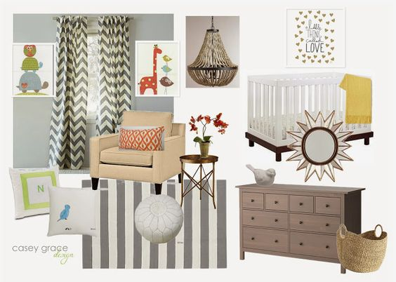 Eat. Sleep. Decorate.: Neutral Nursery #1- Guest Post {A Thoughtful Place}