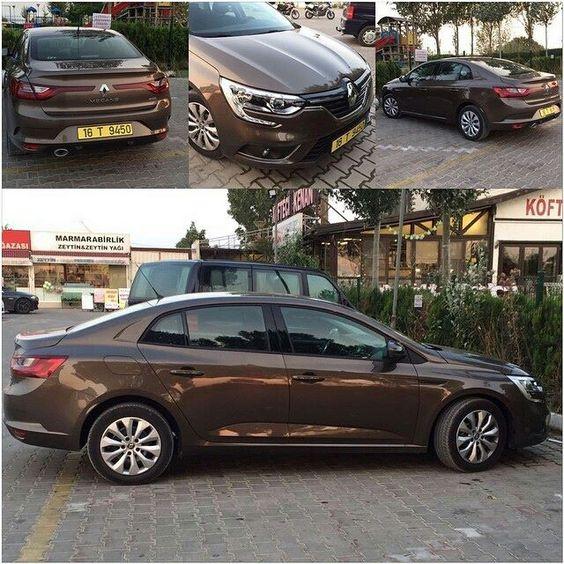 Voici la surprise de la journée: la nouvelle #Renault #Megane #sedan en plein milieu de la rue  Crédit Photo: 3serit - http://ift.tt/1HQJd81