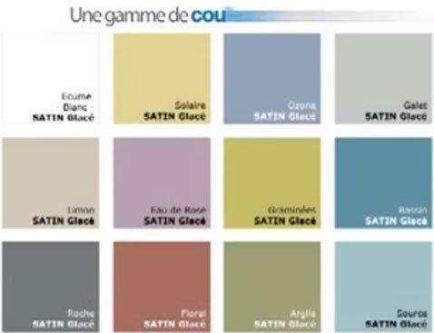 Nuancier Peinture Pour Salle De Bain 12 Coloris Hydroactiv V33 Peinture Salle De Bain Salle De Bain Bains