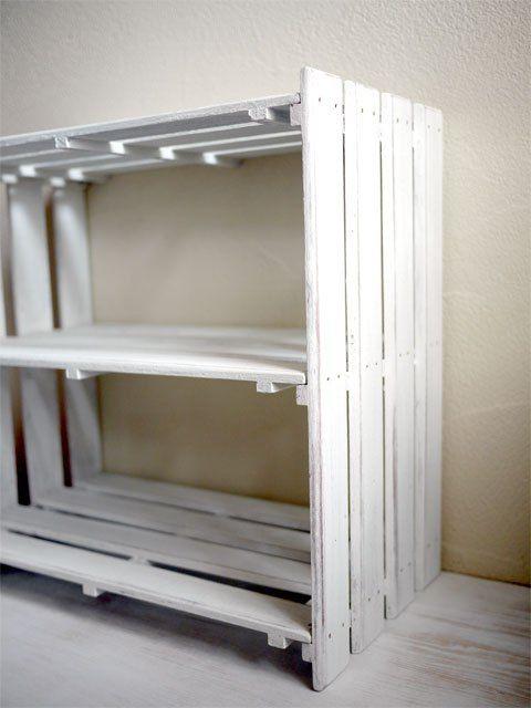 すのこリメイク インテリア 収納 木箱で整理 すのこ 棚 作り方