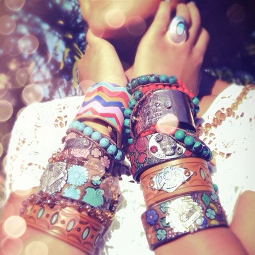 Bracelets from Western Chic Couture...amazing website, check it out!