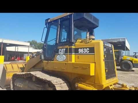 Used Rental Unit - Caterpillar 963 Crawler Track Loader Http://www.brequipmentco.com 8173791340 #caterpillar #heavyequipment #cat963 #loader #heavyequipmentvideos #constructionequipmentvideos