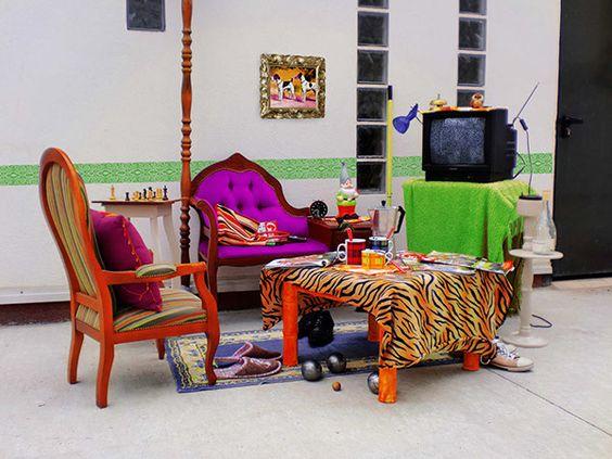 Topoïgraphic - installation of Kitsch-Room in Lyon