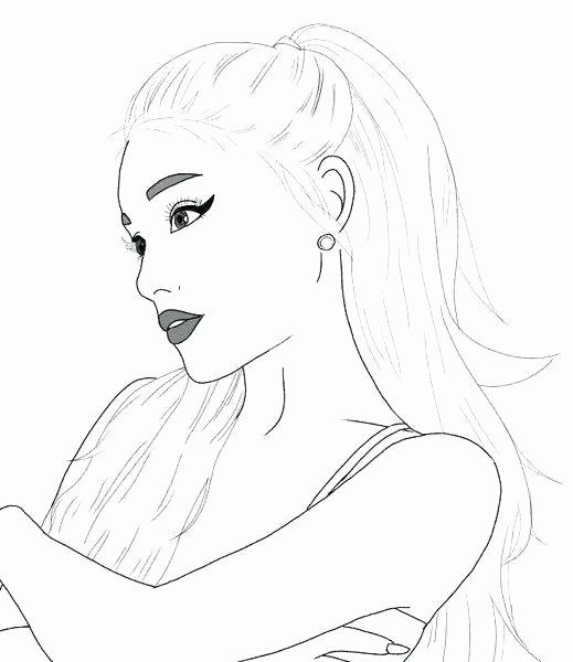 Ariana Grande Coloring Page Best Of 11 Awesome Ariana Grande