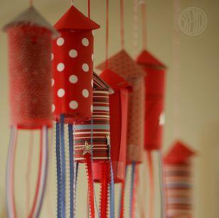 Confetti Rockets by alphamom - looks like fun!