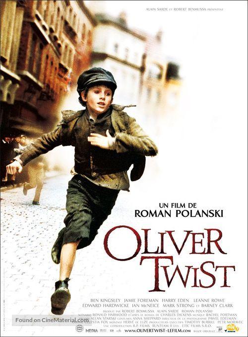Oliver Twist 2005 Movie Poster Oliver Twist Film Oliver Twist Roman Polanski