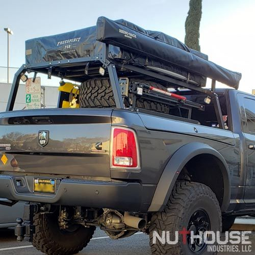 Nutzo Rambox Series Expedition Truck Bed Rack Nuthouse Industries Expedition Truck Truck Roof Rack Overland Truck