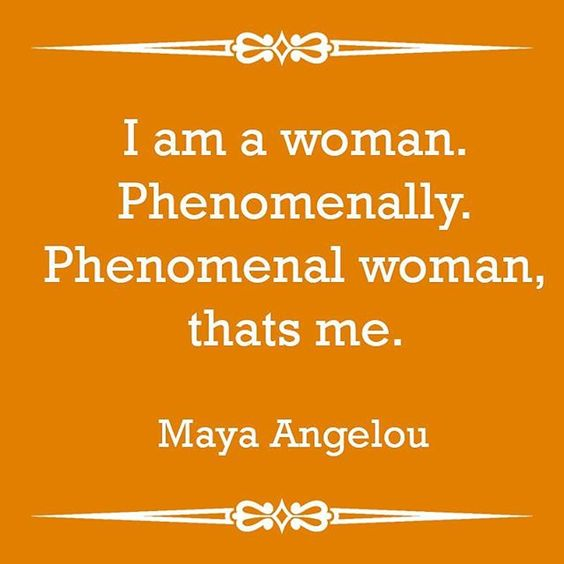 Happy International Women's Day! Today we celebrate the #PhenomenalWoman of the world! #Women #PhenomenalWoman #MayaAngelou #MayaAngelouQuote  #InternationalWomensDay2016 #InternationalWomensDay #WomensDay2016 #WomensDay #QuoteOfTheDay #Quote #aTouchofDaz (scheduled via http://www.tailwindapp.com?utm_source=pinterest&utm_medium=twpin&utm_content=post52714942&utm_campaign=scheduler_attribution)