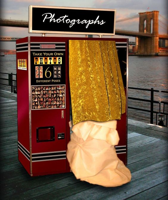 photo booths are classic, and now the host can get copies of all the pictures in a book or on a disc.