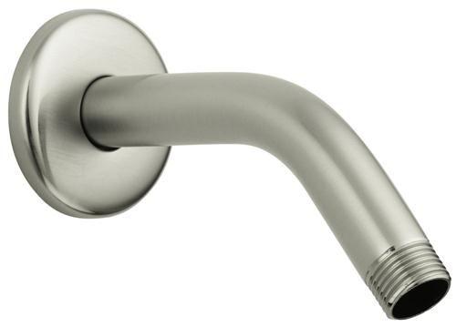 Hansgrohe 27411823 6 Standard Shower Arm, Brushed Nickel