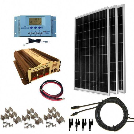 Windynation 3 Module 40 In X 26 4 In100 Watt Solar Panel Sok Lw 300wpi 15 Lw Solarpanels Solarenergy Sol In 2020 Solar Energy Panels Solar Panel Kits Solar Technology