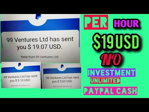 Earn Money Insantly Paypal How To Get Start Free Make Money Part Time Job Free L New Youtube Earn Money Earn Money Online Part Time Jobs
