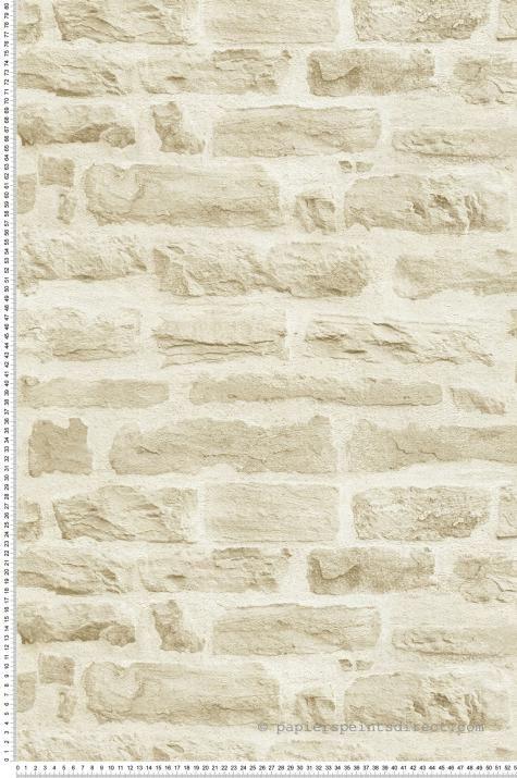 papier peint pierres beiges wood n