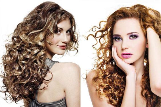 awesome Spiral Perm Frisuren: Haute Hair Fashion #Fashion #Frisuren #Hair #Haute #Perm #Spiral