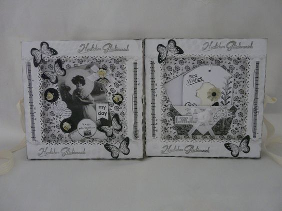 Weiteres -   Geburtstag Geldgeschenk Schachtel Gutschein - ein Designerstück von Froehlich-Elena bei DaWanda