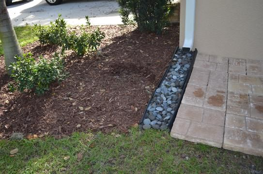 Invisaflow 38 In Channel Guard 7400 The Home Depot Front Yard Landscaping Backyard Landscaping Small Yard Landscaping