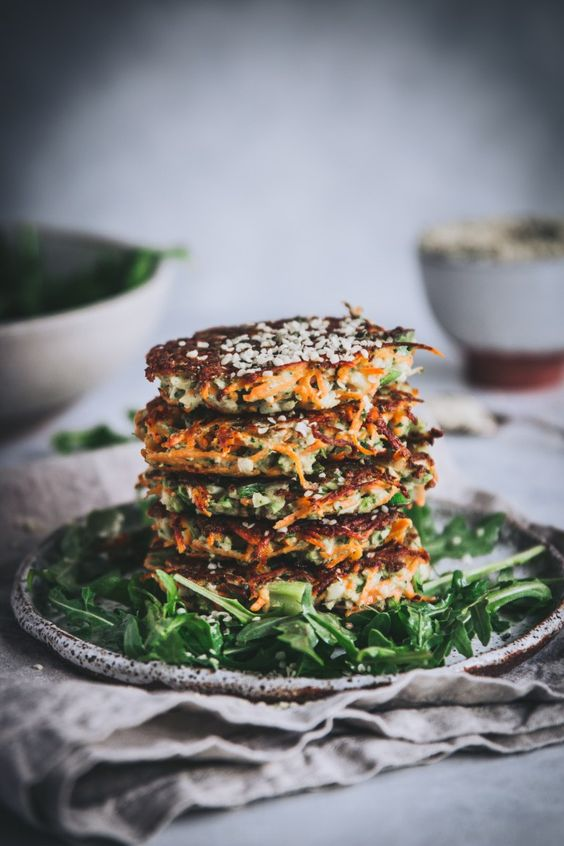 Broccoli and Sweet Potato Fritters