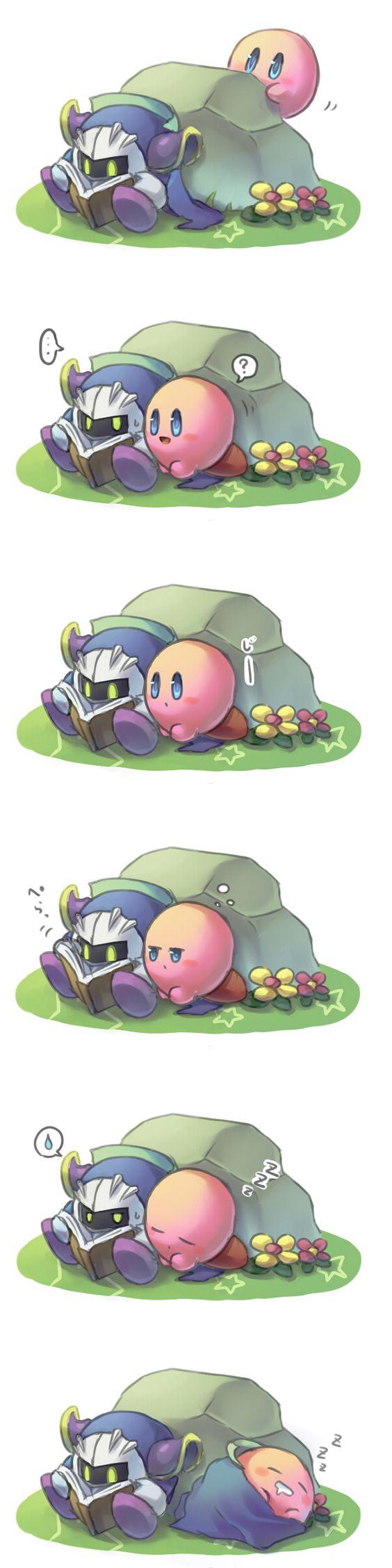 Meta Knight And Kirby Comics Meta Knight and Kirby....