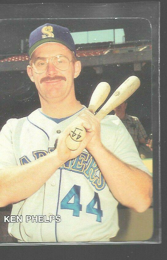 1987 Mothers Cookies Ken Phelps 7 Seattle Mariners Baseball Cards Seattlemariners In 2020 Seattle Mariners Baseball Mariners Baseball Baseball Cards