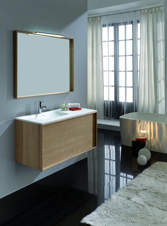 Meuble de salle de bain à suspendre #meuble