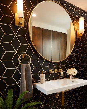 Three Ways With Tile Geometric Tiles Bathroom Bathroom Interior Design Bathroom Design