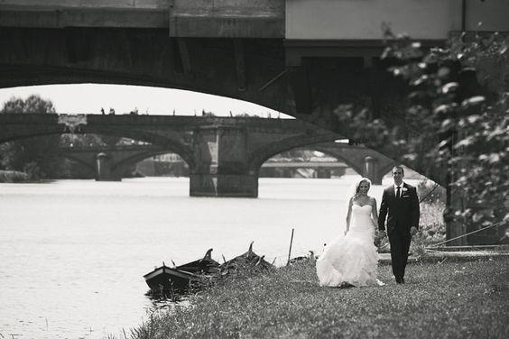 Florence wedding – Ponte Vecchio - Italian Wedding Photographer Jules
