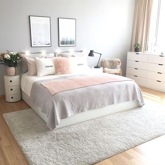 58+ Grey And White Bedroom Ideas On A Budget | Home Decor ...