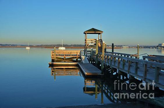 This peaceful and serene scene was enjoyed and captured at Banks Channel on new years day 2015. Banks Channel is at Wrightsville Beach NC.