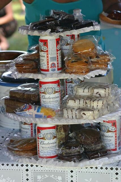 Redneck birthday cake/ use Coke instead and I'd be good! Does that make me a Redneck? LOL