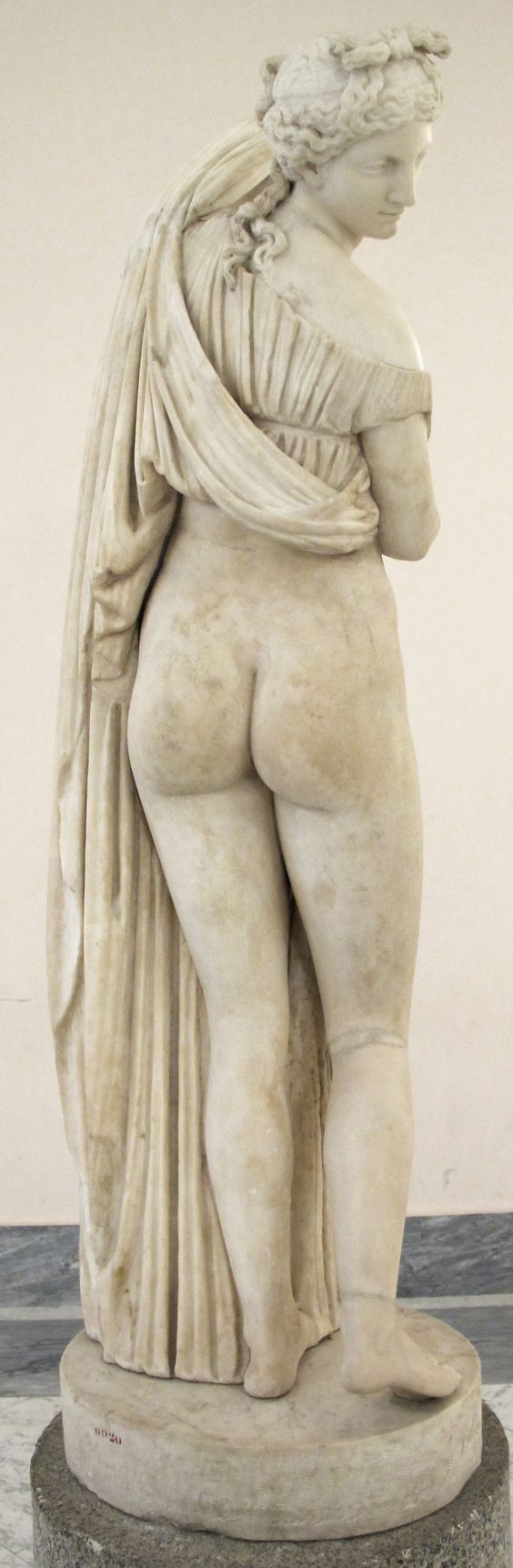 Venus Calipigia (copia de un original helenístico del siglo III a. n. e.)