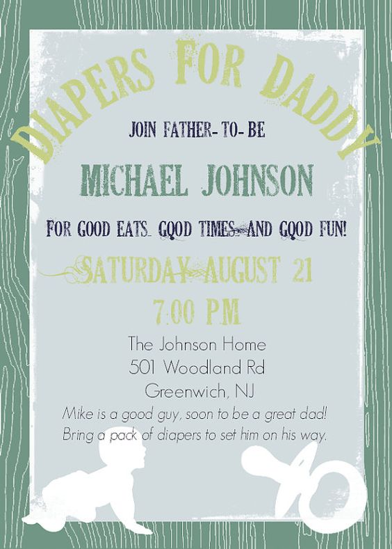 Daddy diaper baby shower dad shower invitation diaper babies daddy diaper baby shower man shower invitation by diconshadesigns 800 filmwisefo Images