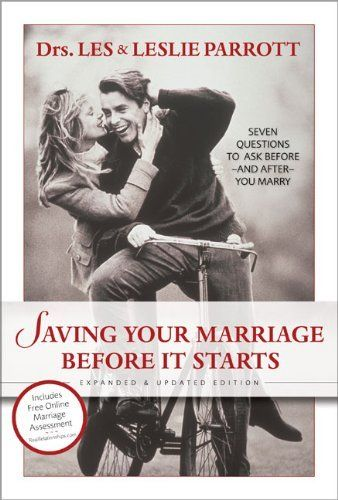if you are engaged and looking for a good pre-marital counseling book this is perfect-my husband and I loved it! Can't wait to go through it again in a few years.  Be sure to get the workbooks to go with.