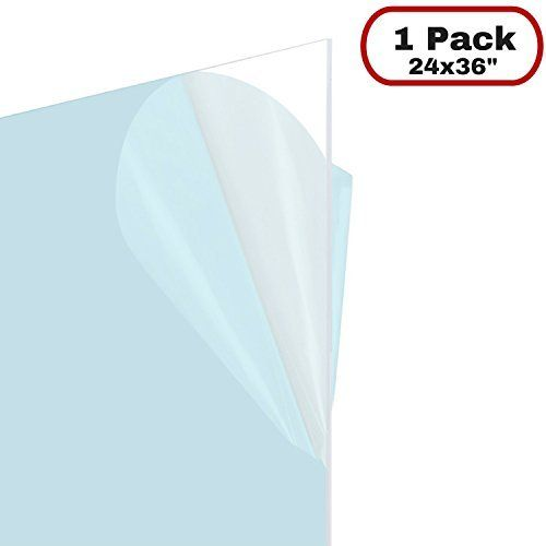 Amazon Com Acrylic Cast Acrylic Clear Sheet 1 8 X 12 X 24 Industrial Scientific Document Frame Poster Frame Glass Material