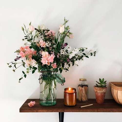 Como Conservar Un Ramo De Flores Flores Naturales Frescas Decoracion Con Plantas Artificiales Decorar Con Flores Artificiales Decoracion Plantas