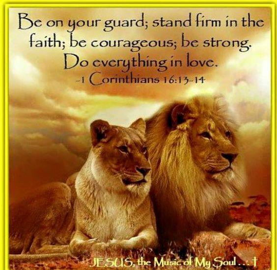 1 Corinthians 13:16-17