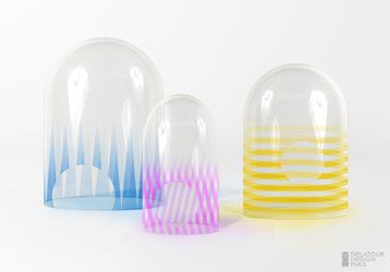 Cloches en verre design