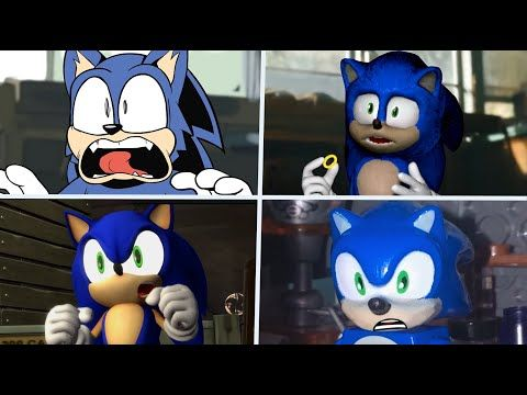 Sonic The Hedgehog Movie Choose Favorite Design 3 Uh Meow Youtube Em 2020 Filmes