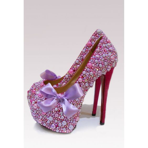 Pink Purple Heels | Tsaa Heel